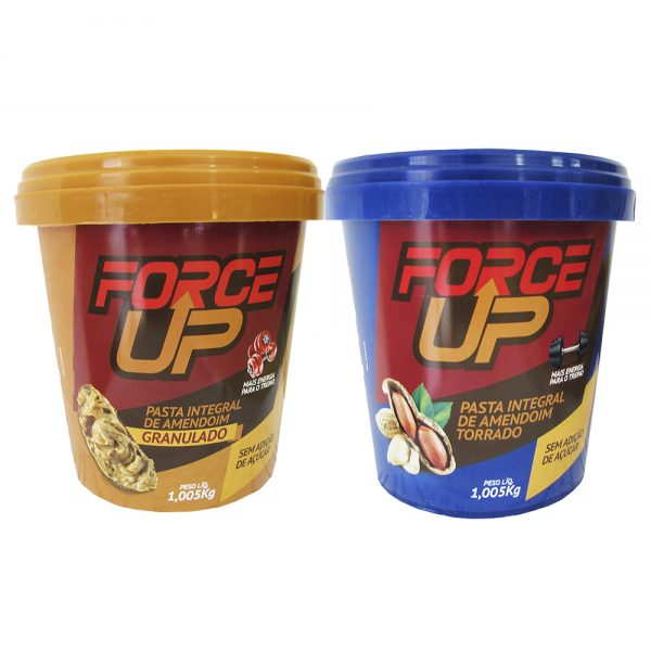 Pasta de Amendoim FORCE UP